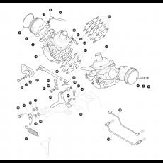 Throttle likage - Stromberg 175CD carburettor - 3.5 litre 8 cylinder petrol engine