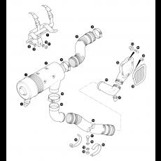 Air cleaner - 4 cylinder turbo diesel engine - 200TDi