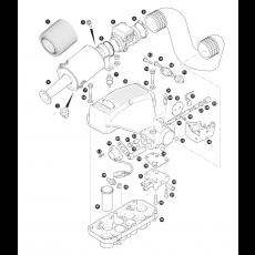 Air cleaner - 3.5 litre 8 cylinder petrol engine - EFi