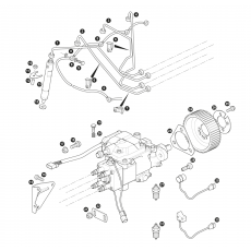 Fuel injection - 4 cylinder turbo diesel engine - 300Tdi