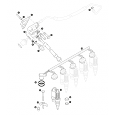Fuel injection - 5 cylinder turbo diesel engine - Td5
