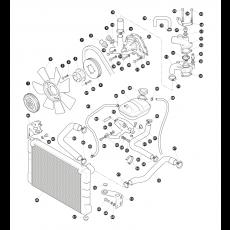 Cooling System - 2.25 litre 4 cylinder diesel engine