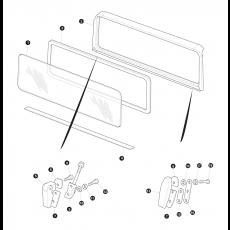 Windscreen and frame