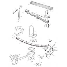 Shock absorbers and leaf springs