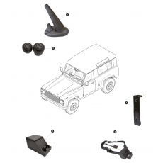 Seat belts, Accessoires, cubby boxes