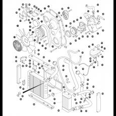 Cooling System - 2.5 litre 4 cylinder turbo diesel engine - 300Tdi