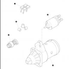 Starter - Diesel engine