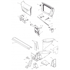 Chassis- & frame parts I & II, Midget I