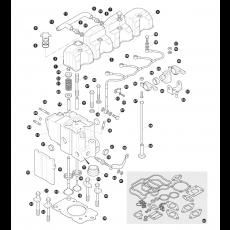 Cylinder head 2400TD diesel engine