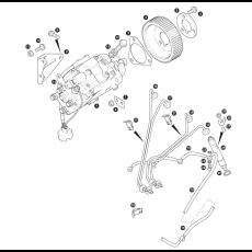 Injector pump, injector pipes and injectors 300Tdi