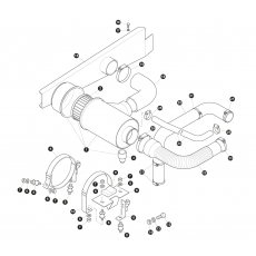 TD air cleaner housing and element