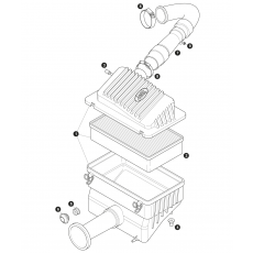 300Tdi air cleaner housing and element