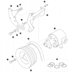 Pump power steering - 200 Series