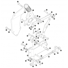 Hand brake lever