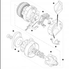 Lucas alternator type A127/65