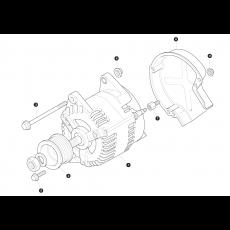 Lucas alternator type A127/100