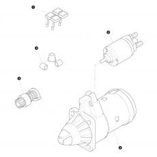 Bosch type starter