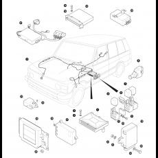 Control unit ABS, air suspention