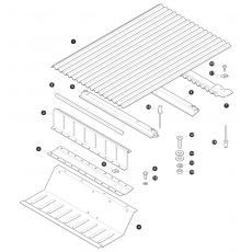 Rear floor