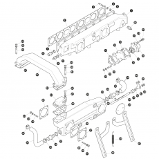 Inlet manifold for models with twin Zenith Stromberg CD175 carburettors