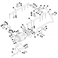 Exhaust emission control system - Series I and early Series II (air injection)
