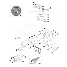 Outer body repair panels - XK120
