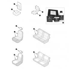 Seat cover - Mini (1996-2000)