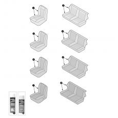 Seat cover - Innocenti