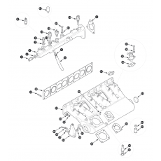 Inlet manifold - fuel injection cars