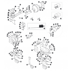 Brake servo and master cylinder - Series I, Series II to November 1973