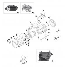 Starter motor - 4.2 Series I to May 1972