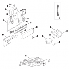Harness and fuse box - Series II