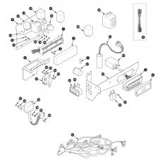 Harness and fuse box - Series III