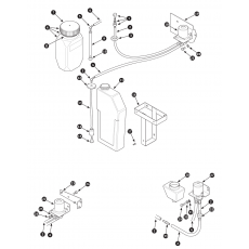 Windscreen washer system - Series I and II