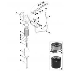 Oil filter - Purolator 'bypass' type