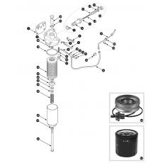 Oil filter - Tecalemit 'full flow' type