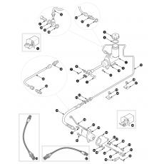 Clutch hydraulics - TR4, TR4A