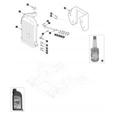 Radiator - TR2 to TR4
