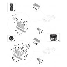 Radiator grille - Series I