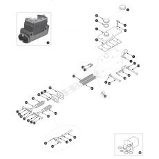 Brake hydraulics - TR2, TR3 to TS13045