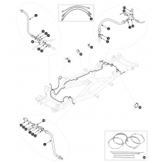 Brake pipes - TR2, TR3 to TS13045
