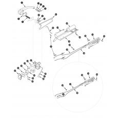 Rear door locks and handles - Series II Saloon