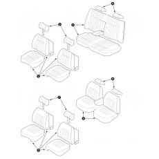 Seat cover - Series III