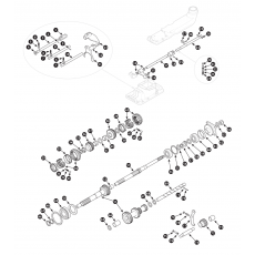 3 synchro gearbox, inner - Spitfire MK3