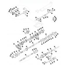 4 synchro gearbox, inner - Spitfire MK4