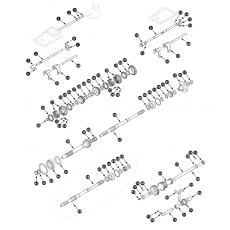 4 synchro gearbox, inner - Spitfire 1500