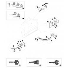 Door locks and handles - TR2, TR3, TR3A and TR3B