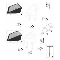 Sidescreens - TR2 to TR3B
