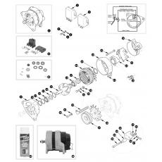 Lucas alternator 15AC type - TR5 and TR250