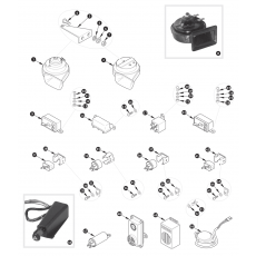 Internal electrics - horn and relays